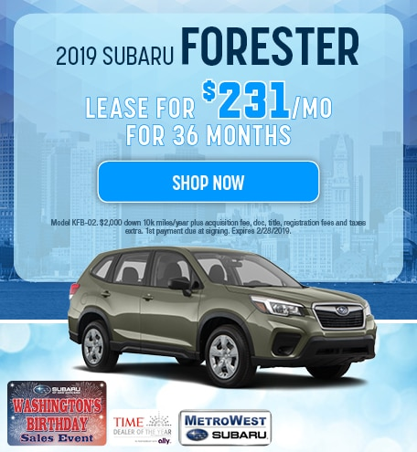 2019 Subaru Forester Updated