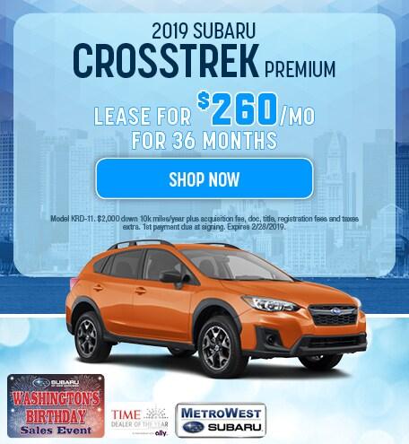 2019 Subaru Crosstrek Updated