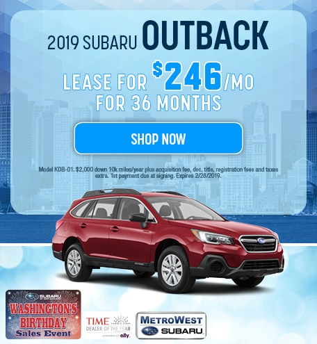 2019 Subaru Outback Updated