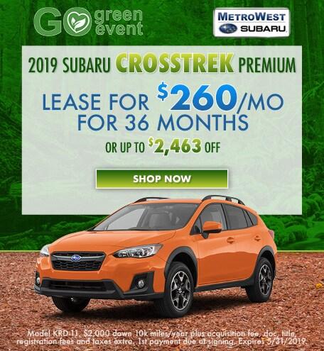 May 2019 Subaru Crosstrek