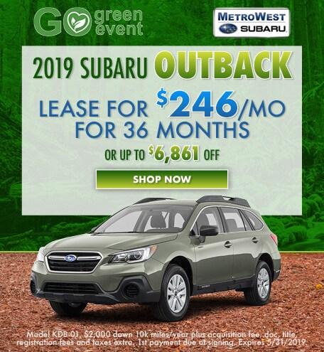 May 2019 Subaru Outback