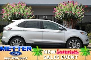 New 2018 Ford Edge Titanium SUV T6592 for sale in Metter, GA
