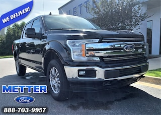 Used 2020 Ford F-150 Lariat Truck SuperCrew Cab 1FTEW1E57LFA24666 for sale in Metter, GA at Metter Ford