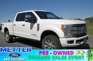 Used 2018 Ford F-350SD Platinum Truck 1FT8W3BT2JEB15617 for sale in Metter, GA at Metter Ford