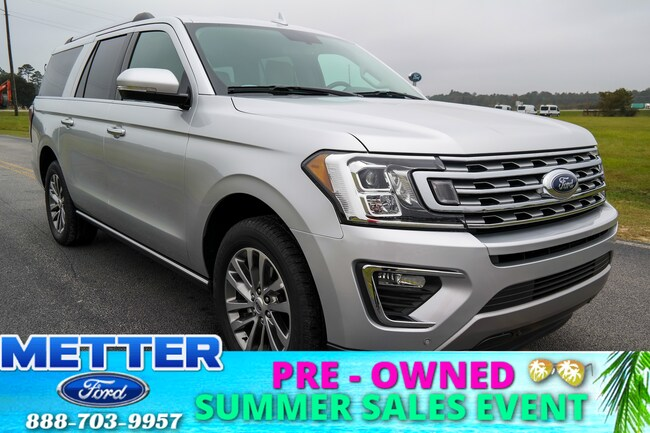 Used 2018 Ford Expedition Max Limited SUV in Metter GA