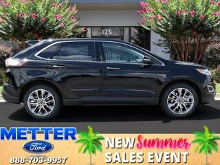 New 2018 Ford Edge Titanium SUV T6569 for sale in Metter, GA