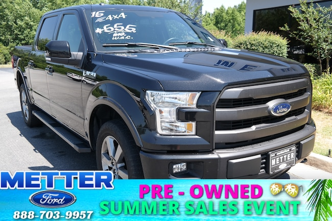 Used 2015 Ford F-150 Lariat Truck in Metter GA