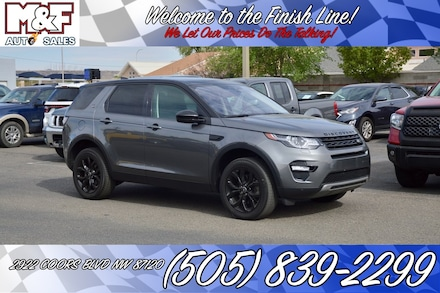 2018 Land Rover Discovery Sport HSE SUV