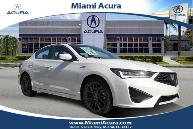 New 2019 Acura Ilx With Technology And A Spec Package Sedan For Sale