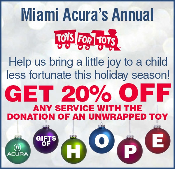 Toys For Tots In Miami, FL At Miami Acura