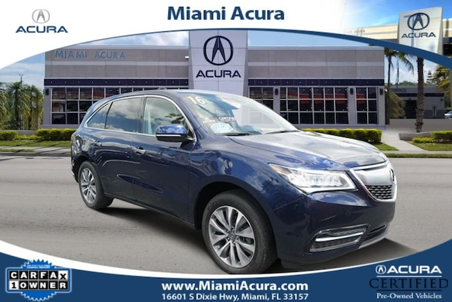 2016 Acura MDX 3.5L w/Technology Package SUV