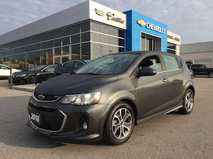 2018 Chevrolet Sonic LT | Sunroof | Heated Seats | Bluetooth | RS