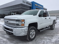 2019 Chevrolet Silverado 2500HD WT | Rear Cam | Side Rails | Step Bumper Truck Double Cab