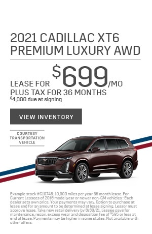 2021 XT6 Premium Luxury - May