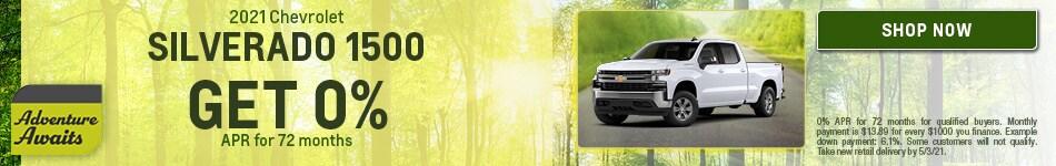 2021 Chevrolet Silverado 1500 - April
