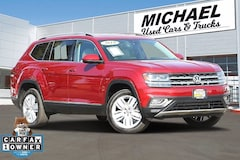 Used 2018 Volkswagen Atlas 3.6L V6 SEL Premium 4MOTION SUV for sale in Fresno, CA
