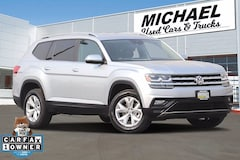 Used 2019 Volkswagen Atlas 3.6L V6 SE w/Technology 4MOTION SUV for sale in Fresno, CA