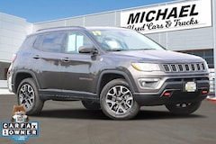 Used 2019 Jeep Compass Trailhawk 4x4 SUV for sale in Fresno, CA