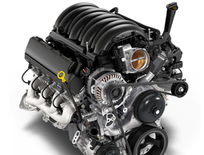 6.2L EcoTec3 V8 WITH DYNAMIC FUEL MANAGEMENT™