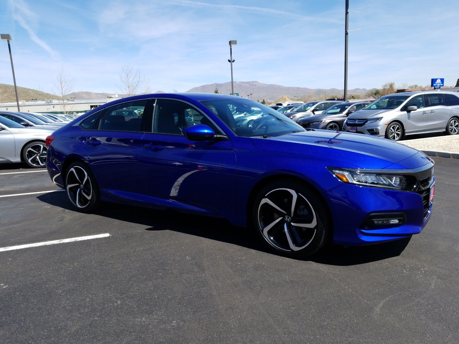 New 2019 Honda Accord For Sale in Carson City NV | Stock
