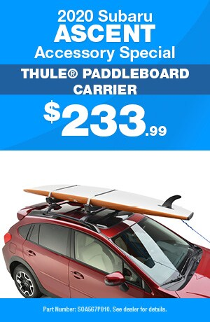Thule® Paddleboard Carrier - 2020 Subaru Ascent Accessory Special