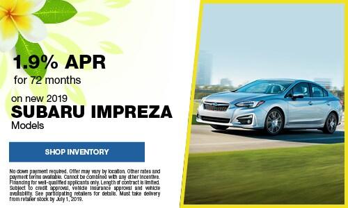 June Subaru Impreza APR Offer
