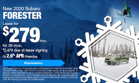 January Forester Offers
