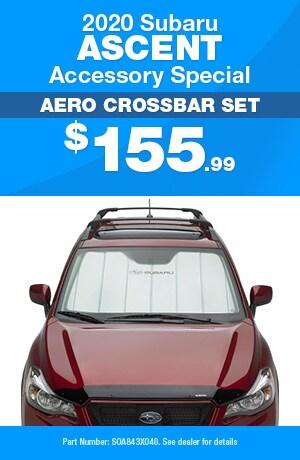 Aero Crossbar Set - 2020 Subaru Ascent Accessory Special
