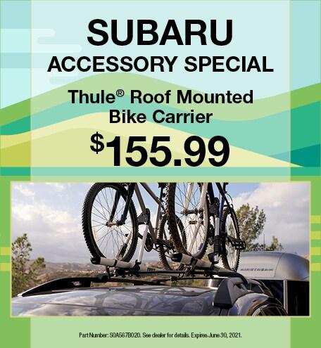 Spring Subaru Accessory Special Offer