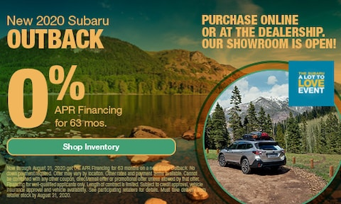 August Outback APR Offer