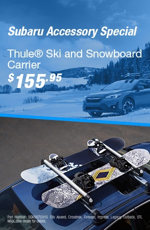 Thule® Ski and Snowboard Carrier