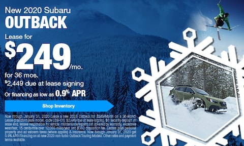 January Outback Offers