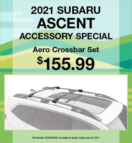 Spring 2021 Subaru Ascent Accessory Special Offer