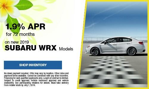 June Subaru WRX APR Offer
