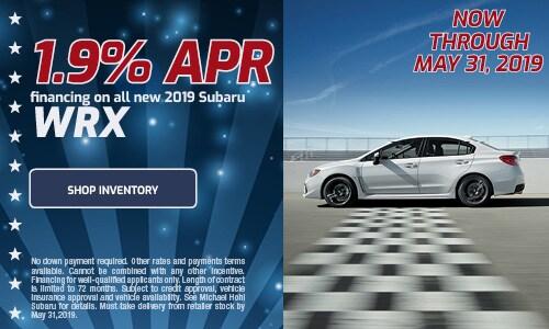 May Subaru WRX APR Offer