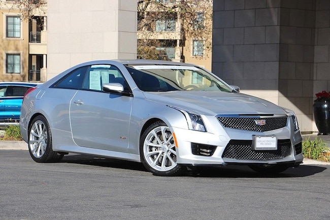 2016 CADILLAC ATS-V Base Coupe