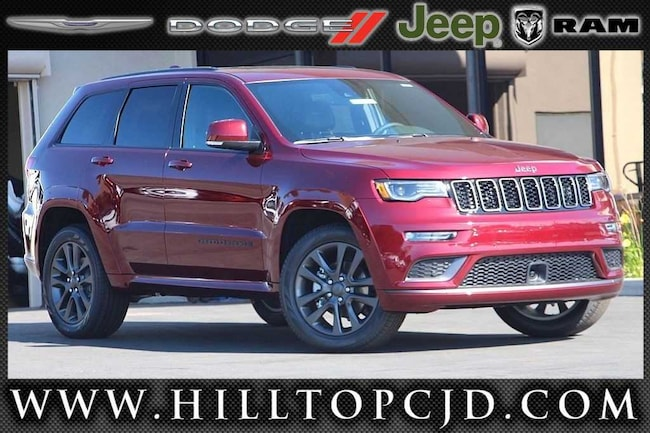 New 2019 Jeep Grand Cherokee HIGH ALTITUDE 4X4 Sport Utility in Richmond, CA