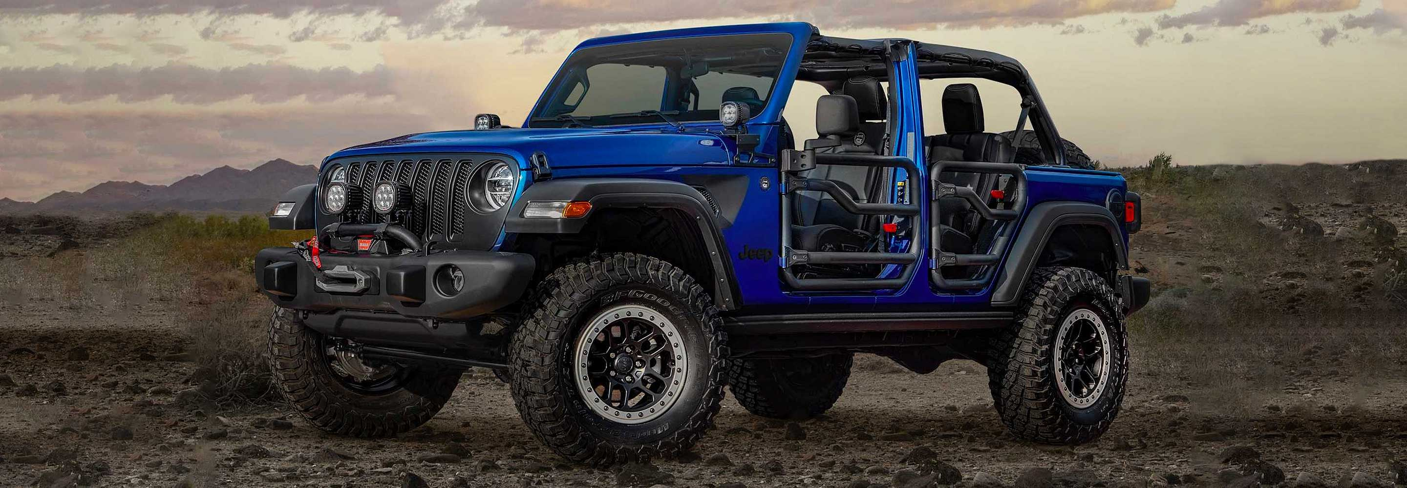 The New Limited-edition Jeep Wrangler JPP 20