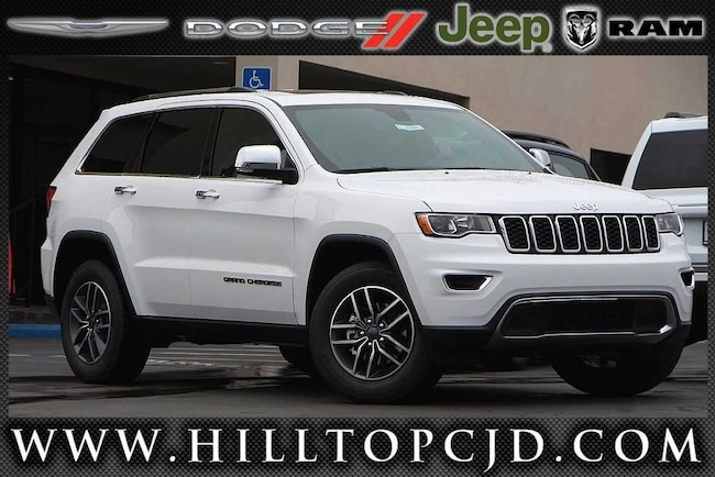 New 2019 Jeep Grand Cherokee LIMITED 4X4 Sport Utility in Richmond, CA