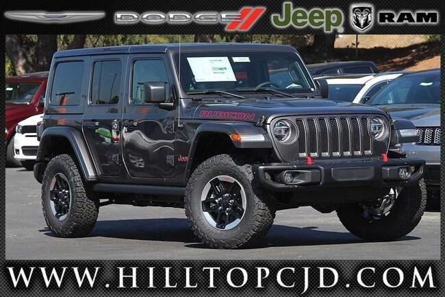 New 2018 Jeep Wrangler UNLIMITED RUBICON 4X4 Sport Utility in Richmond, CA