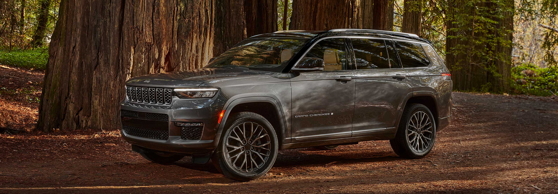 The New, Three-Row Jeep Grand Cherokee