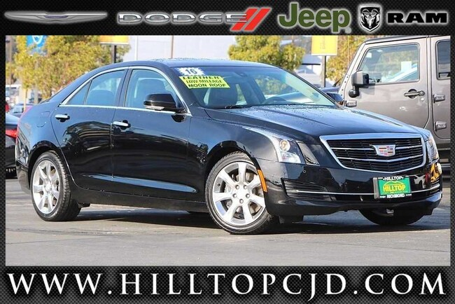 Used 2016 CADILLAC ATS 2.0L Turbo Luxury Collection Sedan in Richmond, CA