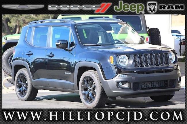 New 2018 Jeep Renegade ALTITUDE 4X2 Sport Utility in Richmond, CA
