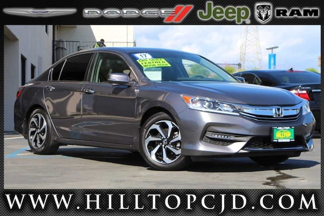 Used 2017 Honda Accord EX-L Sedan in Richmond, CA