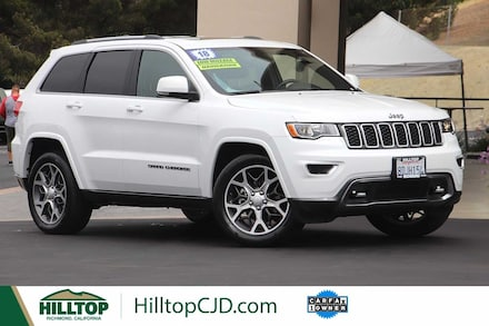 2018 Jeep Grand Cherokee Limited Sterling Edition Sport Utility 4D SUV