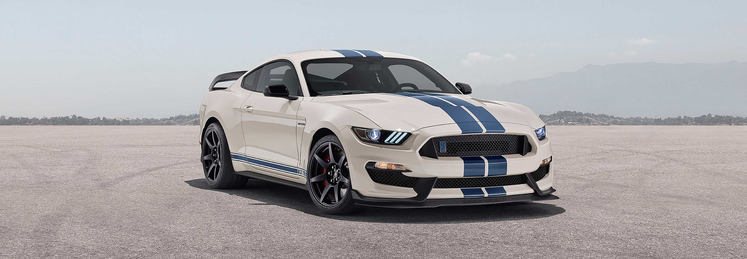 The Ford Mustang GT350 Heritage Edition