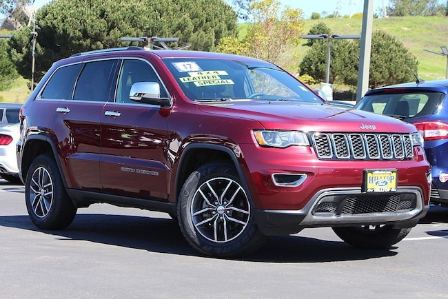 Used 2017 Jeep Grand Cherokee Limited SUV in Richmond, CA