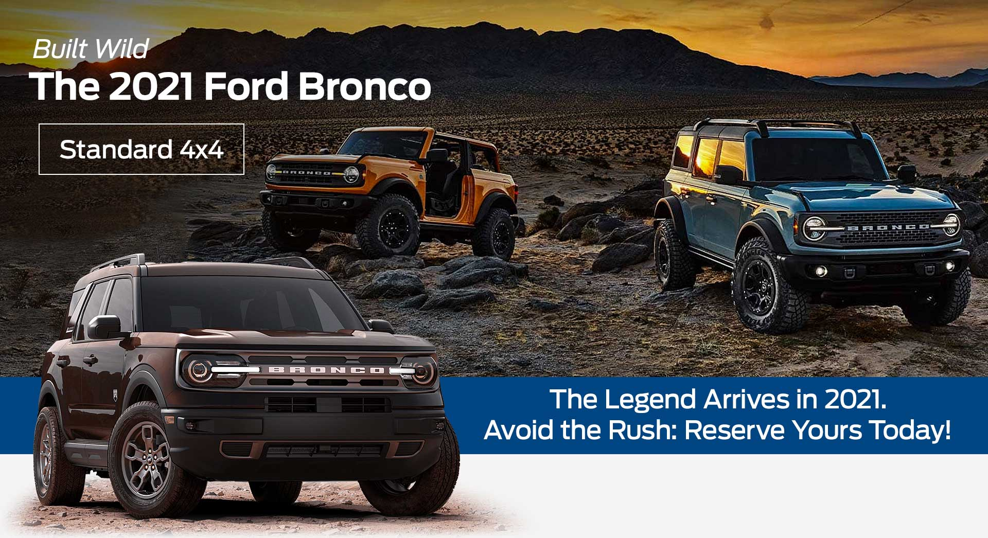 The 2021 Ford Bronco