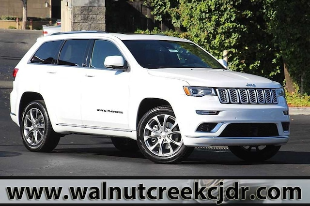 New 2019 Jeep Grand Cherokee Summit 4x4 Sport Utility For Sale In Walnut Creek