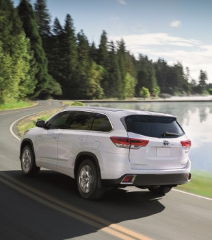 New Toyota Highlander - White